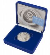1999 Silver Proof £5 Coin Dianna